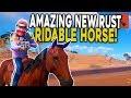 PERFECT Start with Our NEW RIDEABLE HORSE! - Rust Solo Survival