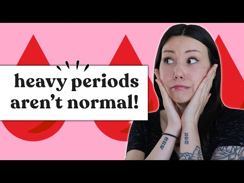 How you can Know for those who have Abnormally Heavy Periods