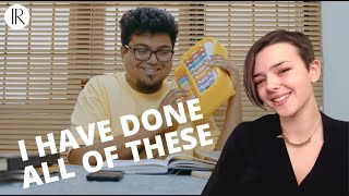 How Students Study For Exams | Part 1 AMERICAN REACTION! | Jordindian | Indi Rossi