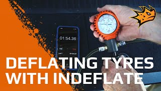 Deflating your Tyres with MAXTRAX Indeflate | Easy Tyre Deflation Video