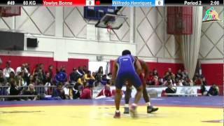 2012 Pan Am: 60 KG Semifinal: Yowlys Bonne (CUB) Vs. Wilfredo Henriquez (VEN)