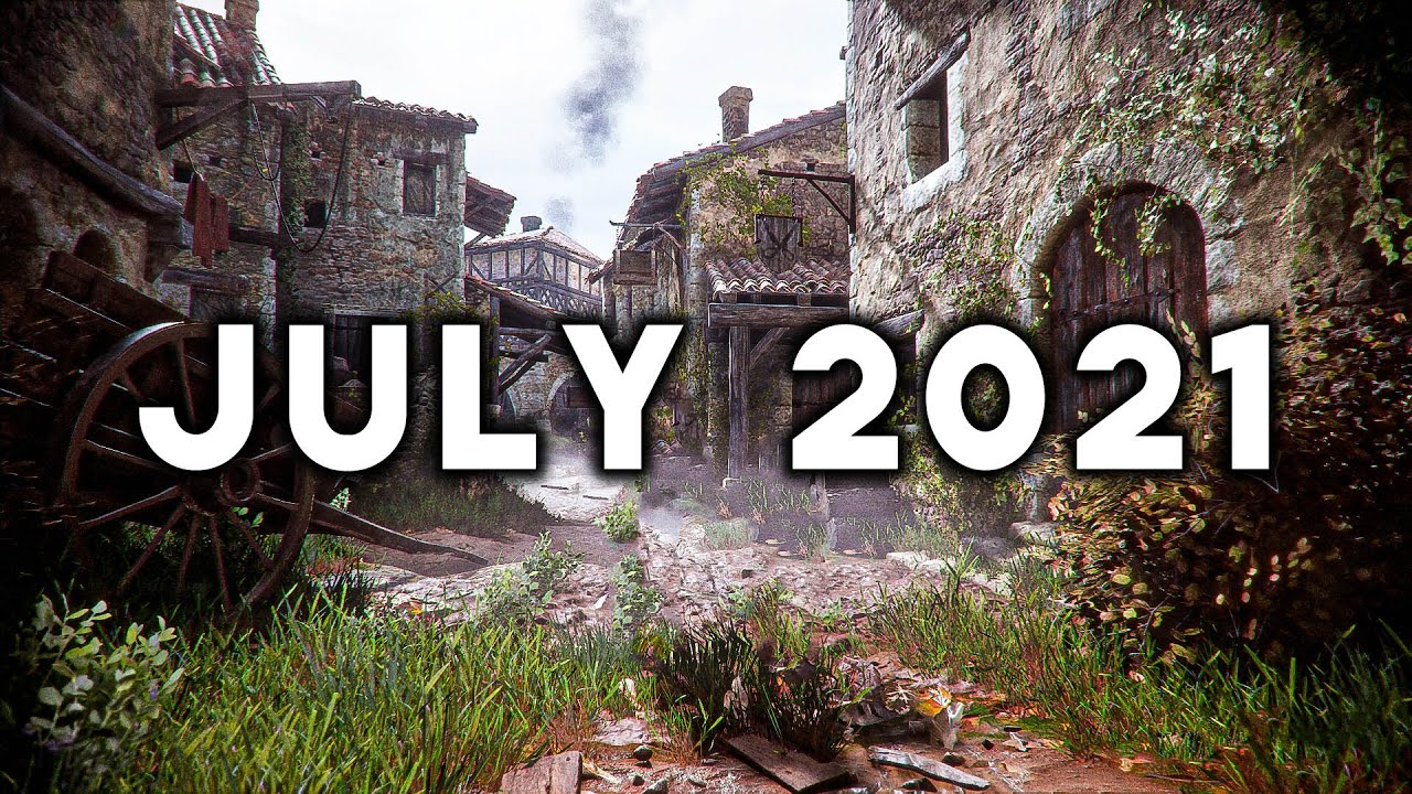 Download TOP 10 BEST NEW Upcoming Games of July 2021 (4K 60FPS)