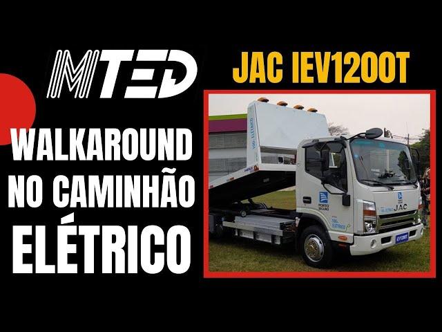 JAC iEV1200T WALKAROUND - MTED