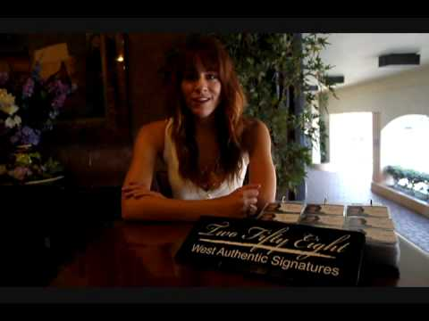 Brit Morgan from the Middleman and True Blood Talks about signing for 258 West Authentic