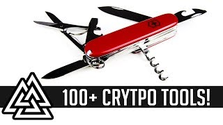 100+ Crypto TOOLS & RESOURCES TO IMPROVE YOURSELF AND TRADE BETTER!