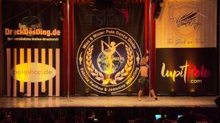 Miss & Mister Pole Dance Globe 2015 - Dawid Skowronek - Finalist - Men 18+