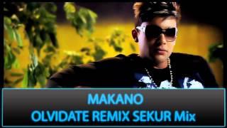 MAKANO - OLVIDATE REMiX SEKUR Mix REGGAETON 2013