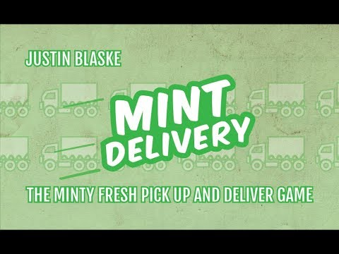 Mint Delivery - Kickstarter Board Game Spotlight