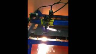 Cnc Plasma Cutter, Cutting Out Sign
