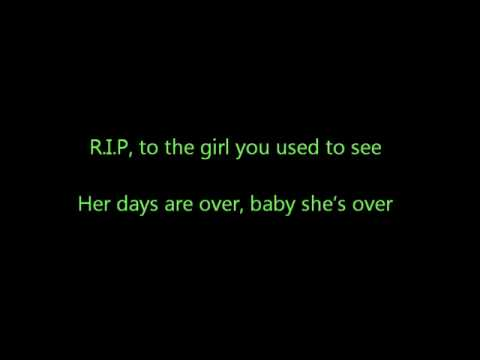 R.I.P - Rita Ora Lyrics on Screen