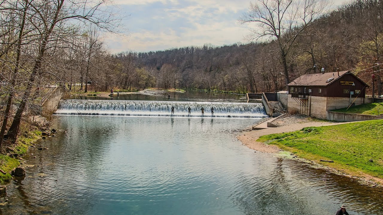 Bennett springs trout fishing extravaganza pt 2 youtube for Bennett springs trout fishing