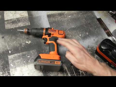 Converting a 18V drill to work with 20V lithium battery