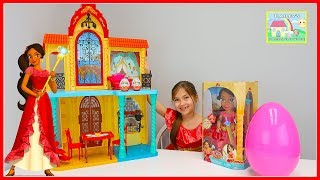 Big Elena of Avalor Toys Castle with Pink Surprise Egg & Singing Doll! Girl Toys with Toy Review