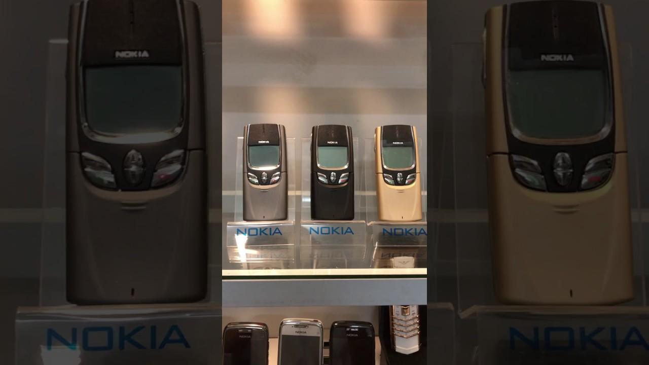 Điện Thoại Nokia 8850 Trượt Nắp Bàn Phím Chính Hãng