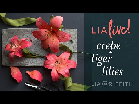 How To Make A Crepe Paper Lily
