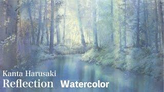 Watercolor   Kanta Harusaki    水彩画 春崎幹太 上高地