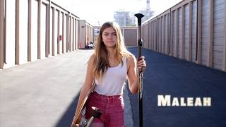 The Street Sweeper | SUPskating With Maleah