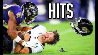 NFL 'BRUTAL' Hits