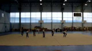 Сборы по художественной гимнастике, Евпатория