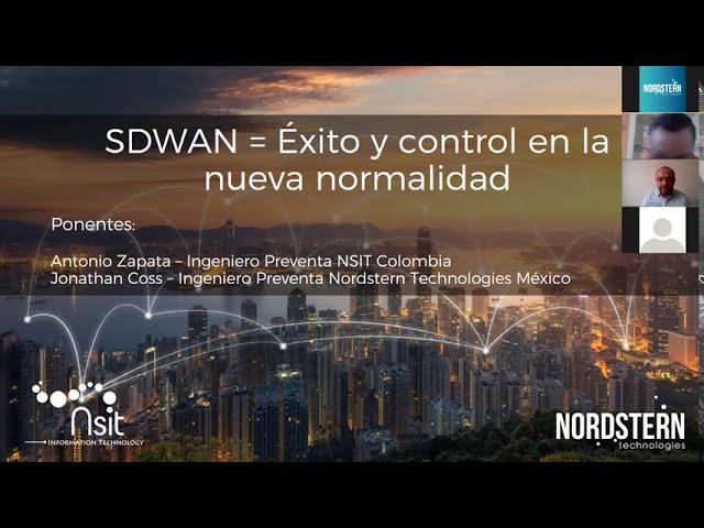 [Video] Webinar SDWAN = Éxito y control en la nueva normalidad