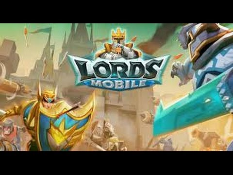 Lords Mobile: Upgrading The Castle!