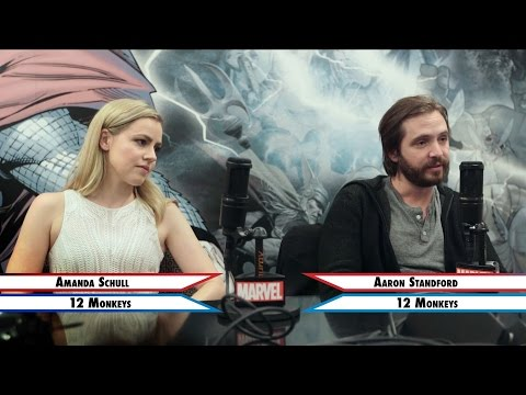 Team Cap or Team Iron Man  Amanda Schull and Aaron Standford