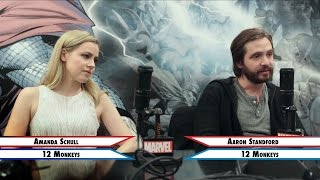 Team Cap or Team Iron Man - Amanda Schull and Aaron Standford