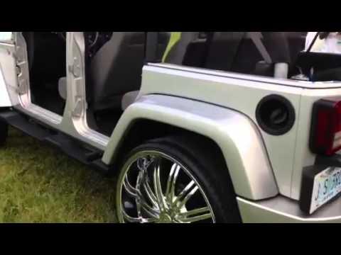 Jeep Wrangler On 28s W 5th Wheel Youtube