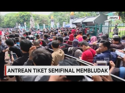 Membeludak, Antre Tiket Indonesia Vs Vietnam, Semifinal Piala AFF 2016