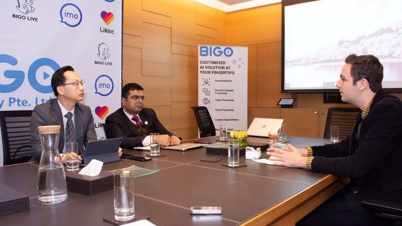 BIGO's First Round Table Meeting with Indian Media Fraternity - YouTube