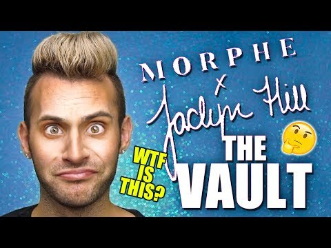 NO BULLSH*T The Vault Collection Review | Morphe x Jaclyn Hill