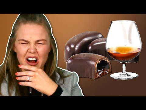 Irish People Try Alcohol Chocolates