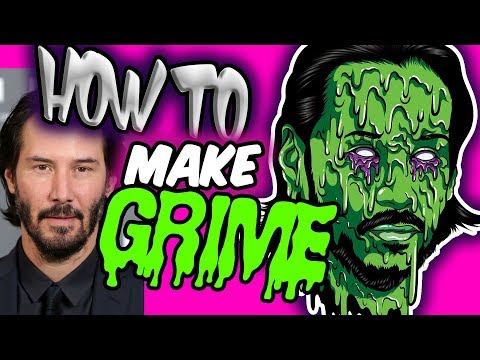 HOW TO MAKE A GRIME JOHN WICK  ( ADOBE ILLUSTRATOR ) thumbnail