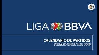 Calendario Oficial | Apertura 2019 | Liga Mx