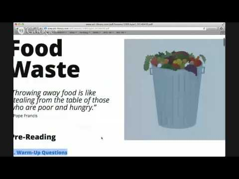 Food Waste with Abby