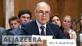 US: All eyes on new environment chief Pruitt