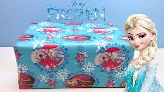 Caja sorpresa FROZEN en español | Juguetes de Frozen | Huevo kinder sorpresa Elsa Frozen