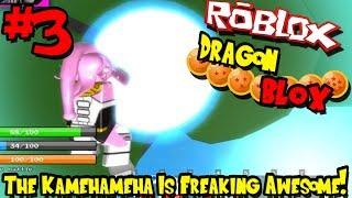 KAMEHAMEHA IS JUST FREAKING AMAZING! | Roblox: Dragon BLOX (Demo) - Episode 3