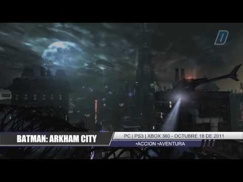 Batman: Arkham City - Trailer gameplay en español