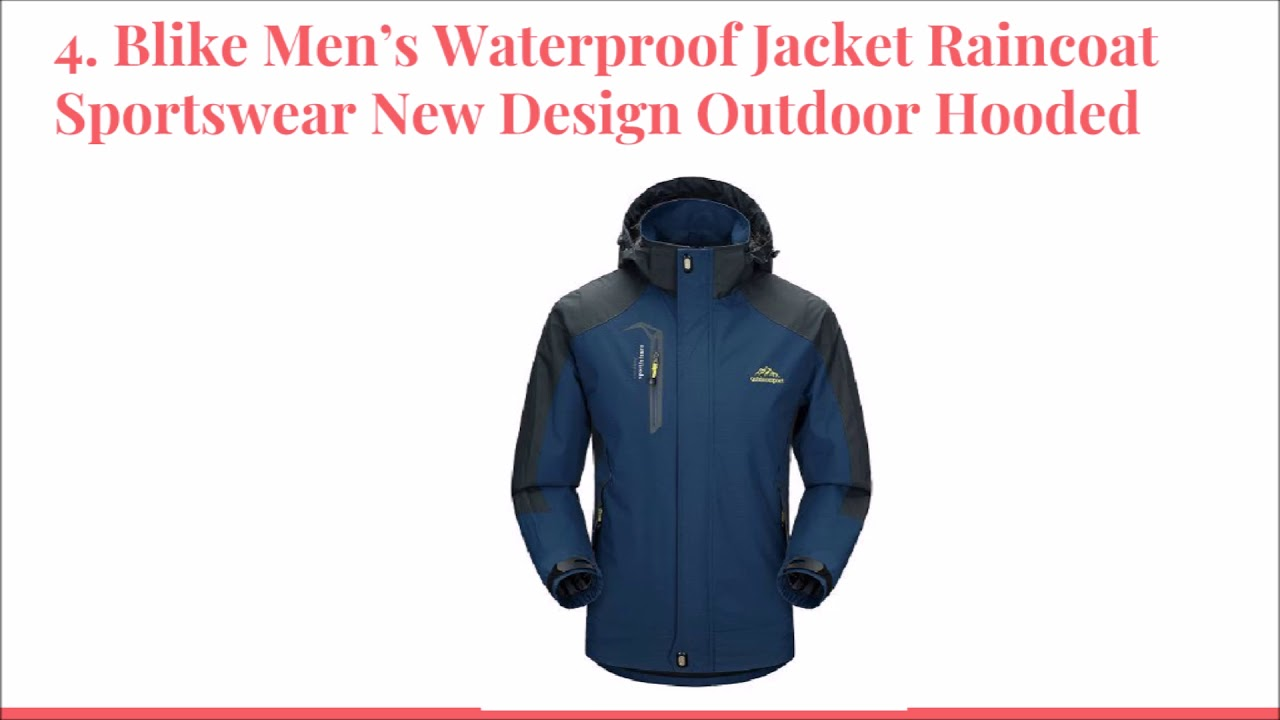 672eb60d43 Top 10 Best waterproof Jackets in 2018 Reviews-DtopList - YouTube