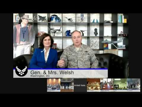 Virtual Town Hall with Gen. & Mrs. Welsh