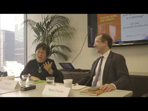Welfare, Work, and Poverty: Social Assistance in China with Qin Gao