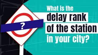 RailYatri Train Station Delay Index | Madurai Station