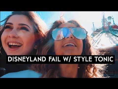 LE FAIL À DISNEYLAND w/ STYLE TONIC || Léna Situations
