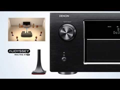 DENON | The AVR-X7200WA Network AV Receiver - Blockbusting 3D Sound