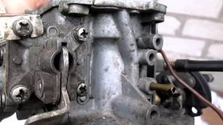 Установка ГБО. Экономия топлива. Где просверлить в карбюраторе отверстия под штуцера.