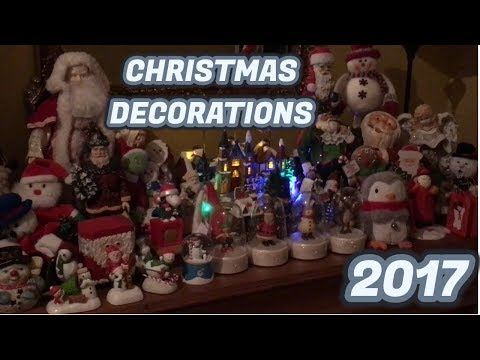 CHRISTMAS DECORATIONS 2017 (Indoor/Outdoor Display)