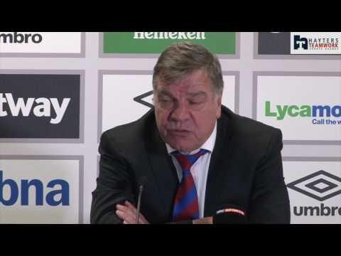 Allardyce 'shocked' at result