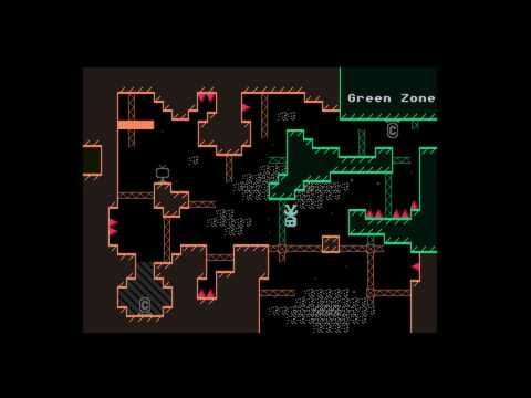 VVVVVV custom level - 333333 (All Trinkets)