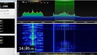 26 05 2019 Deutsche Welle Interval Signal to WeAf 1405 on 15195 Issoudun thumbnail